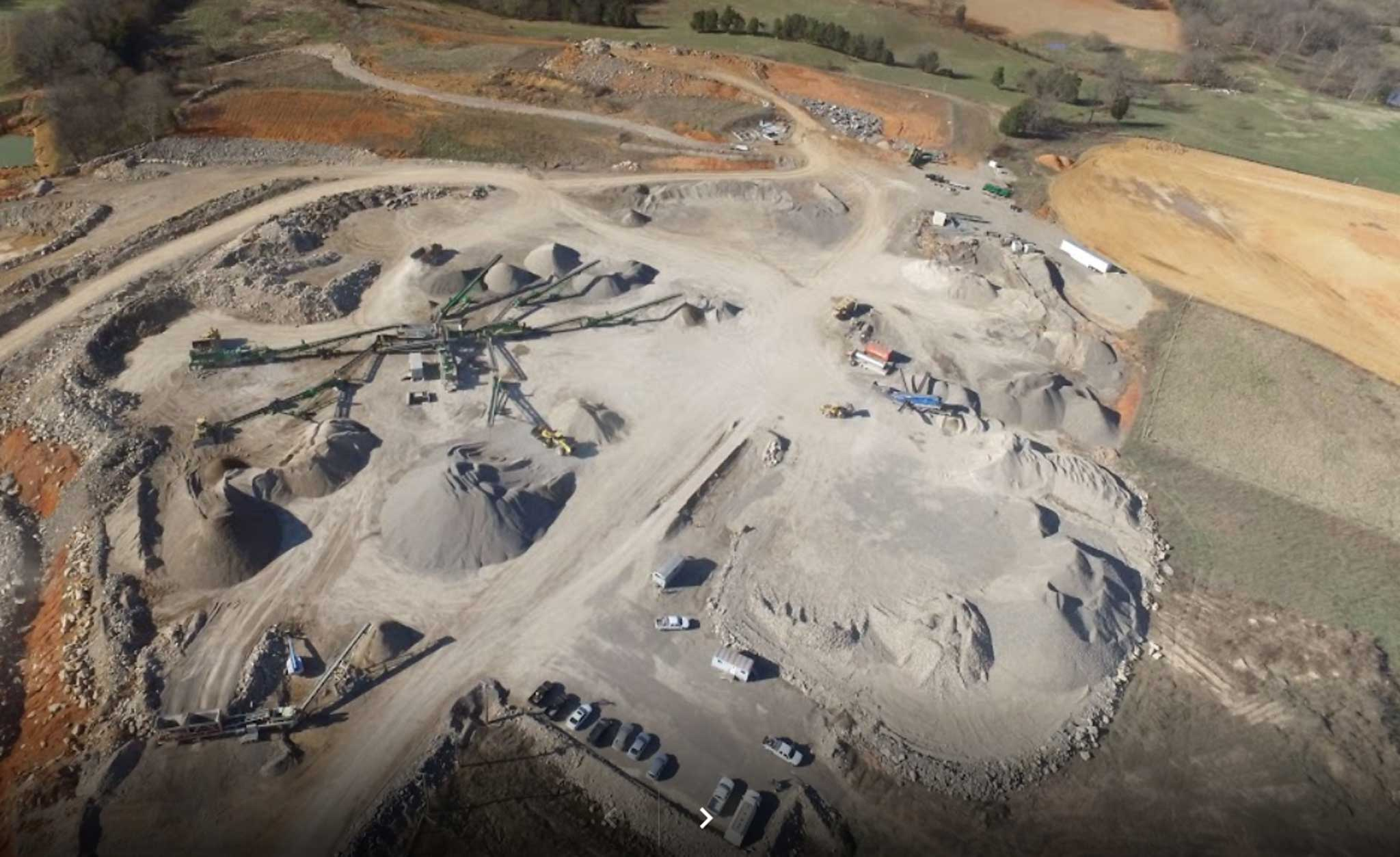 Aerial Image of CDCI Quarry