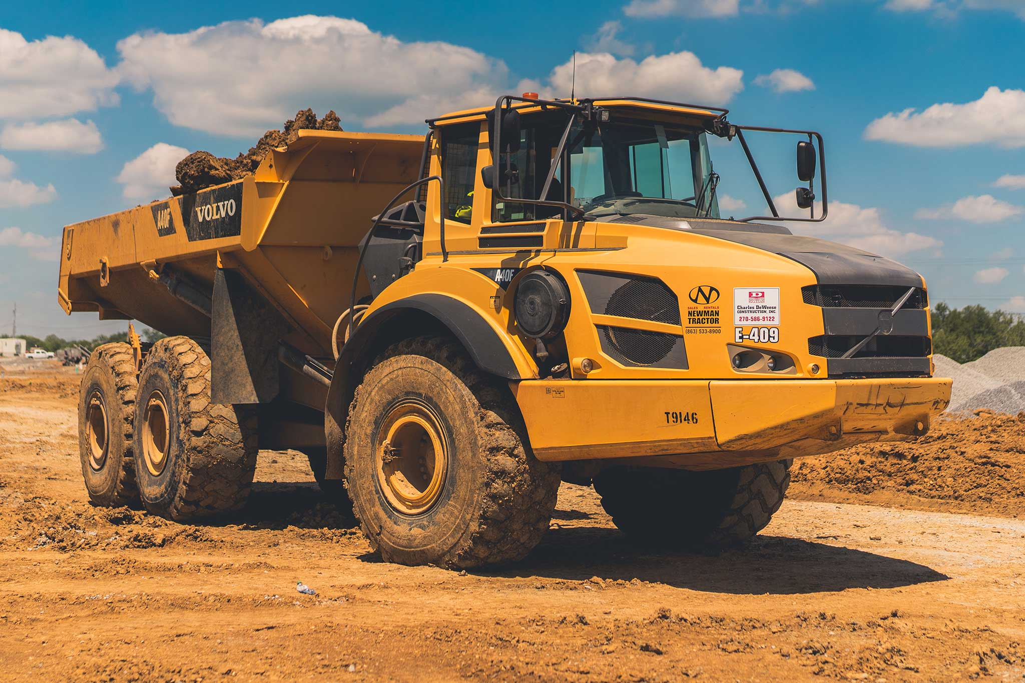 CDCI Dump Truck for Site Development
